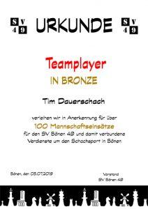 Teamplayer-Bronze