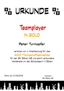 Teamplayer-Gold